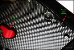 Voigtlnder Bessa Zweiformat Pressure Plate (02) (Hans Kerensky) Tags: red window open close mask bessa format dual knob voigtlnder inlay zweiformat anywhitefieldtagbyflickrsspamtagbot