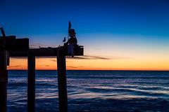 Ocean Grove Pier (artkeh) Tags: ocean sky beach colors sunrise coast pier newjersey puppet shore jerseyshore oceangrove oceangrovenj