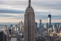 Empire State Building, New York (andyrousephotography) Tags: city nyc newyork architecture buildings landscape cityscape empirestatebuilding empirestate bigapple topoftherock skyscaper totr andyrousephotography