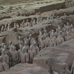 "Terracotta Army // 兵馬俑<a href=""http://www.flickr.com/photos/28211982@N07/16524305202/"" target=""_blank"">View on Flickr</a>"