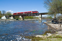 O-Train (cz.fabijan) Tags: canada train ottawa railway talent carleton kanada otrain vlak eleznice