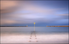 Path to nowhere (jeanny mueller) Tags: light sea england seascape water clouds unitedkingdom southshields