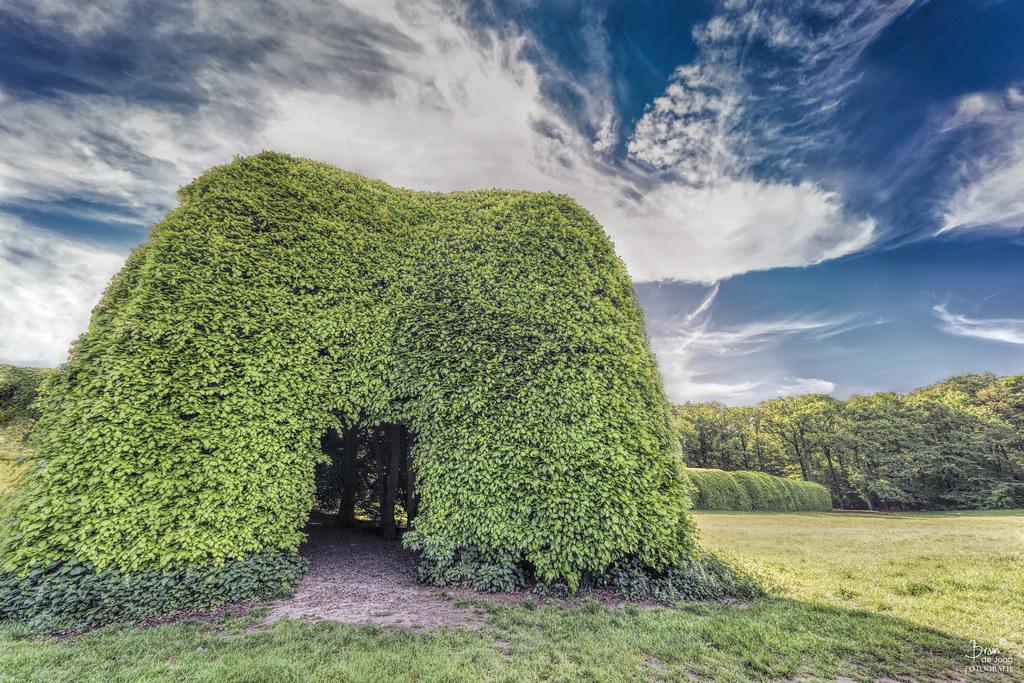 Berceau De Groene Bedstee in Landgoed Mariëndaal.
