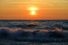 Waters6-1 (lee_siegel1) Tags: sunset tower beach nature water beautiful fun sand lifeguard lifeguardtower grandbend