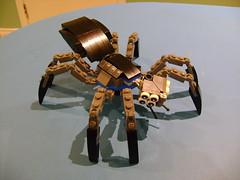Custom Lego Spider (tekmoc17) Tags: insect spider store eyes lego legs 8 custom moc pab pickabrick 2016