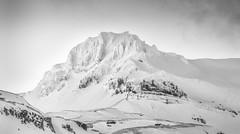 Smjorhnukur Cloaked In White (Glen Sumner Photography) Tags: blackandwhite panorama mountain snow mountains ice nature monochrome landscape landscapes iceland summit highkey grundarfjrur smjorhnukur