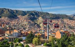 Vista desde el teleferico (Andrs Photos 2) Tags: streets bolivia ciudad lapaz calles altiplano sudamerica elalto lasbrujas