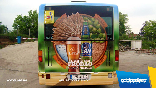 Info Media Group - Lav pivo, BUS Outdoor Advertising, Banja Luka 05-2016 (5)