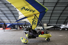 G-CHRY - 1999 build Medway Microlights Eclipser Raven, visiting Barton (egcc) Tags: manchester barton raven microlight weightshift cityairport flexwing littlenelly 160138 egcb eclipser rotax912 medwaymicrolights gchry eicry