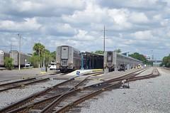 florida 249 (Fan-T) Tags: florida terminal amtrak sanford superliner autotrain
