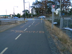 Meanwhile in Colwood 20121003213 167 (Luton) Tags: bike bicycle bicycling cycling bicyclefacilities railstotrails gallopinggoose colwood bicycleadvocacy cyclingtourism