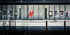 M People (Sean Batten) Tags: street city shadow england urban reflection london window glass sign shop 35mm nikon df unitedkingdom streetphotography gb onenewchange