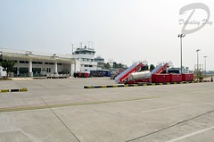 Overview - Agartala Airport (Dipalay) Tags: airport overview tripura agartalaairport