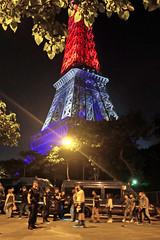 Fanzone Paris (Bronko) Tags: paris france eiffelturm toureiffel eiffeltower night football euro uefaeuro2016 uafeeuro fusball europameisterschaft