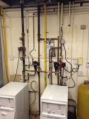Boiler Pipe work