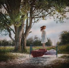 Dream (IrinaDzhul) Tags: portrait people tree girl jump dream irinadzhul dzhulirina