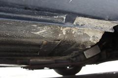 Sill closeup (Pim Stouten) Tags: auto car restore vehicle jag restoration xjs jaguar macchina coup restauratie wagen pkw vhicule