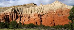 Sedimentary (arbyreed) Tags: arbyreed landscape scenic utah sandstone shale entradasandstone henrievillesandstone dakotaformations geology utahgeology kodachromebasin garfieldcountyutah redrock
