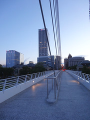 Milwaukee from the Milwaukee Art Museum (ensign_beedrill) Tags: milwaukeeartmuseum milwaukee milwaukeetrip2016