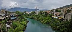 Mostar Panorama (John Golay) Tags: old bridge panorama canon john und d mostar bosnia n mosque most 400 herzegovina nd pont dxo stari hercegovina 6d mosque bosna nd400   golay bosnien bosnieherzgovine herzegowina hercegowina  bonia    herzegovinaneretva  johngolay
