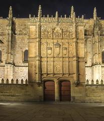 La Fachada de la Universidad (R.Duran) Tags: espaa night noche spain nikon espanha europa europe nocturna salamanca espagne sigma1020mm castillayleon d7200