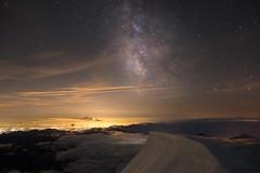 Milchstrae ber der Poebene (-Maddin-) Tags: mountain alps night stars star nacht berge alpen stern turin sterne milkyway poebene puntagnifetti milchstrase