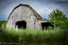 Beside the road (Kelly Lambert Photography) Tags: county barn rural landscape north carolina ashe