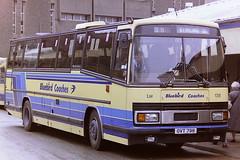 MIDLAND BLUEBIRD 138 OVT798 A184UGB (bobbyblack51) Tags: bus station all stirling tiger transport 1995 bluebird 3200 midland types paramount leyland 138 plaxton of a184ugb ovt798