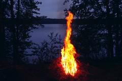 I have seen fire (sakarip) Tags: trees lake water night finland fire evening midsummer kokko lakescape juhannuskokko midsummerbonfire luumki kokonniemi pahainlahti sakarip