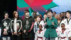 K_Culture_in_Kenya_17 (KOREA.NET - Official page of the Republic of Korea) Tags: kenya nairobi korea taekwondo  parkgeunhye    kculure  presidentparkgeunhye