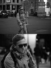 [La Mia Citt][Pedala] (Urca) Tags: portrait blackandwhite bw bike bicycle italia milano bn ciclista biancoenero mir bicicletta 2016 pedalare dittico 84613 nikondigitale ritrattostradale