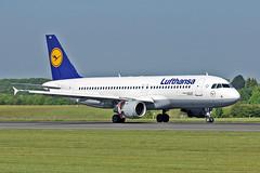 """D-AIPB Airbus A.320-211 Lufthansa MAN 03-06-16 (PlanecrazyUK) Tags: man manchester lufthansa 030616 ringway egcc airbusa320211 airport"""" daipb """"manchester"""