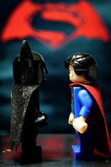 Batman vs Superman (steved_np3) Tags: macro toy toys dc lego superman batman vs marvel figures