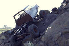 1970-s J-20_53 (My Scale Passion) Tags: old mountain scale truck vintage rocks jeep modeling body wide double retro climbing custom build scratch crawling rc wraith j20 crawler lifted styrene axial tekin scx10 myscalepassion