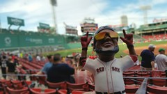 David Ortiz gnome night (bpephin) Tags: summer boston gnome baseball redsox fenway mass 34 ortiz mlb