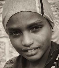 Adigrat Girl, Ethiopia (Rod Waddington) Tags: africa portrait people girl monochrome face female african traditional afrika ethiopia ethnic ethnicity afrique ethiopian thiopien etiopia ethiopie etiopian tigray adigrat