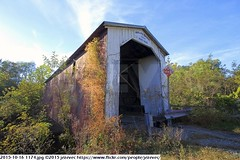 2015-10-16 1174 (Badger 23 / jezevec) Tags: pictures travel bridge vacation tourism arquitetura architecture rural america puente photography photo arquitectura midwest unitedstates image photos indiana images ponte american covered coveredbridge architektur pont brug thingstodo brcke   architettura architectuur arkitektur 1100  destinations midwestern architektura silta   arhitektura ponticello pontcouvert  pontecoberta        arhitektuur overdektebrug   lvka puentecubierto berdachtebrcke stavebnictv overdkketbro katettusilta    dekketbroen pokrytemostu  omfattasbro