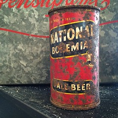 Nattyboh. (Joseph Skompski) Tags: old beer vintage antique rusty maryland can baltimore beercan nattyboh nationalbohemian baltimoremd