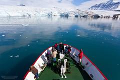 Nordenskild Glacier (www.kasvanzonneveld.com) Tags: ocean nature water norway boat ship tour north glacier svalbard adventure explore spitsbergen 79 gletsjer 79 79n nordenskild