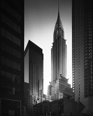 Queen of New York City (Joel Tjintjelaar) Tags: chrysler building chryslerbuilding newyorkcity longexposurephotography artdeco canon17mmts nyc architecture blackandwhitearchitecture metropolis