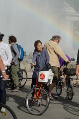Una mujer oriental (vienadirecto) Tags: vienna street urban calle bicicleta criticalmass urbano viena vienne bycicle 2016 fahrad viennanakedride