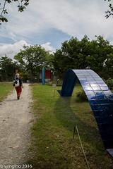 Ponte blue (vengino) Tags: parco del chianti sculture siena toscana parchi macchiamediterranea parcosculturedelchianti