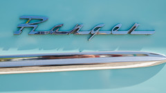 Ranger (GmanViz) Tags: color detail car nikon automobile ranger edsel fender chrome badge type script 1960 gmanviz d7000