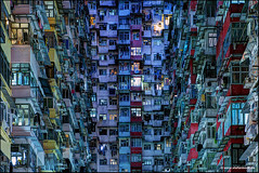 Quarry Bay II (Stefan Bock) Tags: hongkong china architektur architecture quarrybay hongkongisland nacht night transformers