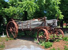 Stockholm, NJ - Hay Baler (dlberek) Tags: agriculturalequipment sussexcounty haybaler agriculturalmachines historicfarmequipment stockholmnj