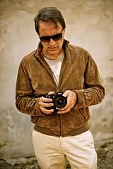 Self Service (Steve Lundqvist) Tags: camera portrait people selfportrait man me sunglasses myself nikon jacket age autoritratto ritratto suede selfie menswear chinos
