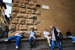 *** (Boris Rozenberg) Tags: streetphotography streetphoto street situation people sitting italy digital nikon pov sigma1020 sigma sigmalens moment look walk walking man life daily world florence journey trip snap snapshot