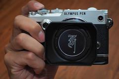 PEN-F Grip Olympus () Tags: olympus em5mkii em5mk2 penf voigtlander 425mm f095 grip penfgrip