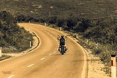 Freedom Ride (Bajo Rogan) Tags: voyage road travel bike speed landscape chopper nikon highway ride traffic time handmade path bosnia ngc motorbike herzegovina nikkor d5300