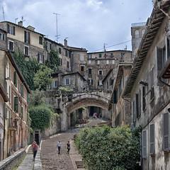 Via Appia (Andy Sheridan) Tags: urban italy architecture steps perugia umbria density viaappia litalia andysheridan2016